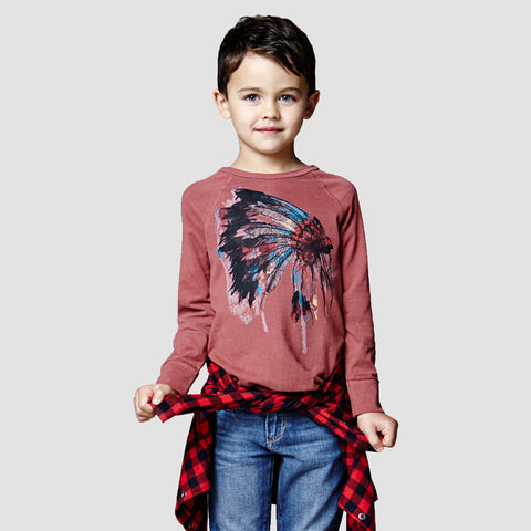 Cherokee Boys Colour Block Printed T-Shirt