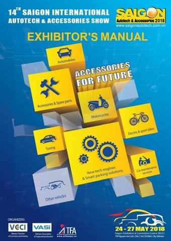 14TH SAIGON INTERNATIONAL AUTOTECH & ACCESSORIES SHOW 2018 May 24 to 27
