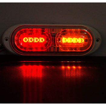 24V 2 LED Car Wing Body Clearance Side Marker Light