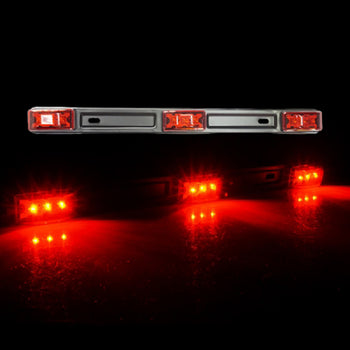 24V 3LED Straight Red Side Marker Light - KoreaAutoAccessory