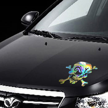 Car Decal Vinyl Sticker Skull