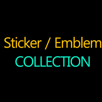 Sticker Emblem Collection