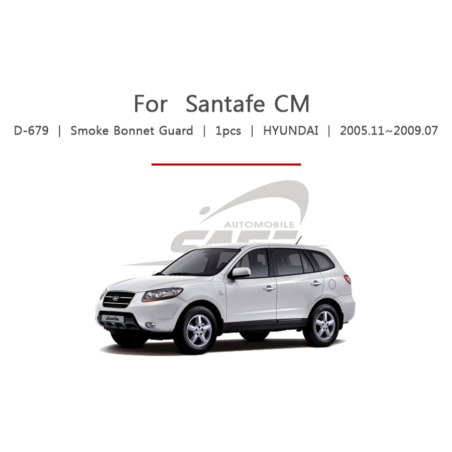 1pc Hyundai Fit Santa Fe CM Bonnet Guard Molding Trim - KoreaAutoAccessory