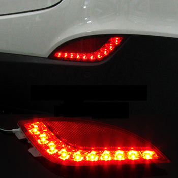 Hyundai Tucson ix LED Taillight Reflector Waterproof Brake Turn Signal Backup