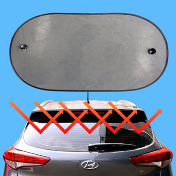 50pcs Car Back Window Sun Shade Visor Folding Auto Windshield
