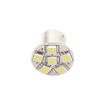 12V/24V Ba15S 1156 Ba15D 1142 6 SMD 5050 LED Replacement Light Bulbs - KoreaAutoAccessory