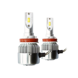 12V-24V 36W 3800LM 6500K IP65 LED H7 H8 H11 H3 H4 880 881 Headlight Foglight Lamp (Pack of 2pcs) - KoreaAutoAccessory
