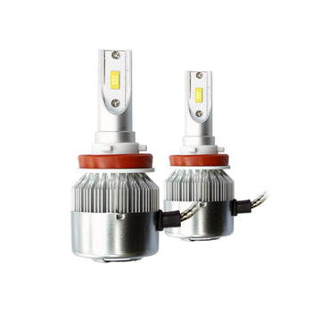 12V 36W 3800LM 6500K IP65 LED H7 H8 H11 H3 H4 880 881 Headlight Foglight Lamp (Pack of 2pcs) - KoreaAutoAccessory