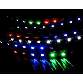 12V 30CM 11.81in 60CM 23.62in LED Snow Fall Christmas Xmas Flexible Strip Light Waterproof - KoreaAutoAccessory