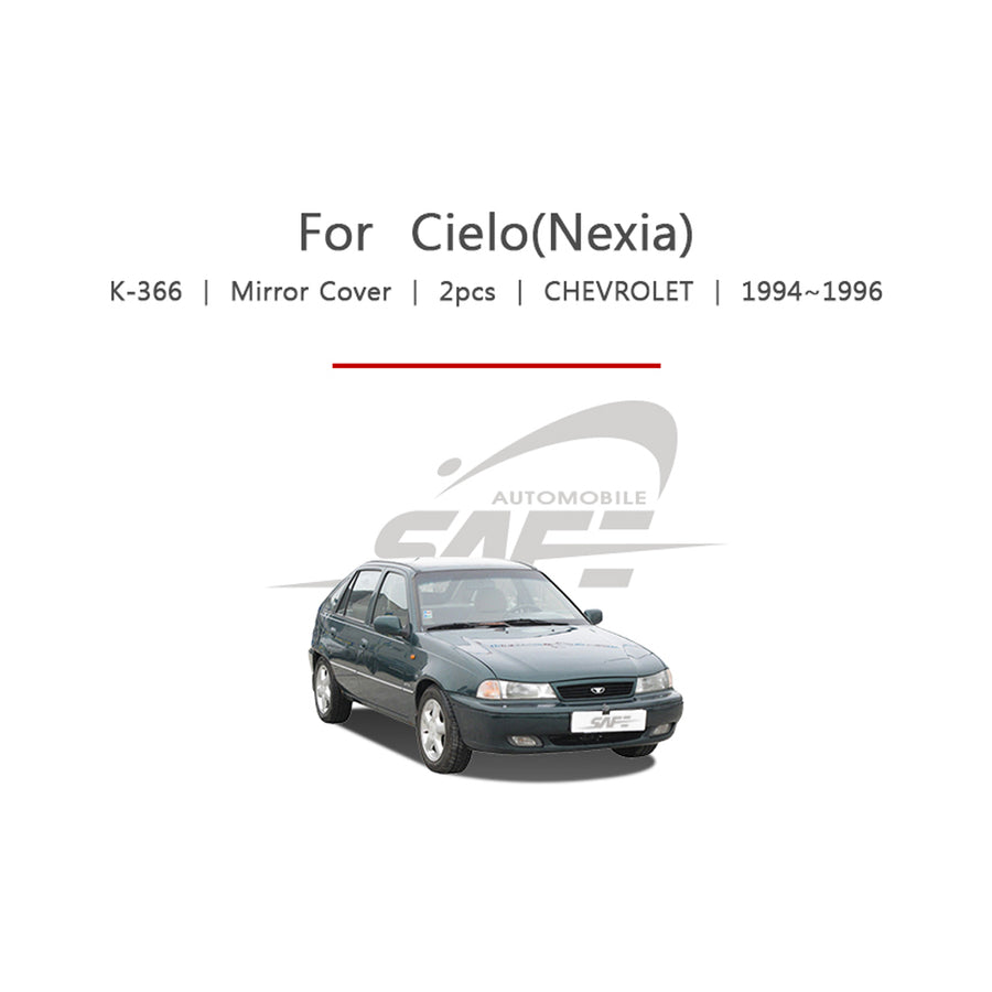 2pcs Chevrolet Fit Cielo Side Mirror Cover - KoreaAutoAccessory