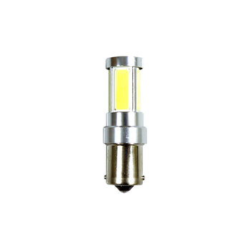 12V Ba15S 1156 5 COB LED Replacement Light Bulbs Turn Signal Taillight Backup Reverse Lamp - KoreaAutoAccessory