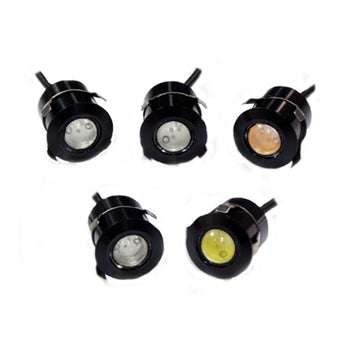12V 1 LED Eagle Eye Lamp Daylight Car Fog DRL Daytime Running Car Light Tail Reverse Backup - KoreaAutoAccessory