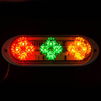 24V 3-Color LED Car Wing Body Clearance Side Marker Light - KoreaAutoAccessory