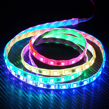 12V 50~100CM SMD LED Waterproof Flexible RGB Strip Light Module Remote Control - KoreaAutoAccessory