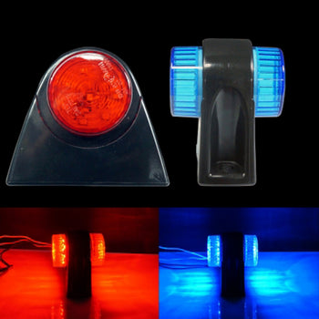 24V Mini Side Marker Light Lamp Wing Body Blue Red - KoreaAutoAccessory
