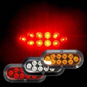 12V Switchback LED Taillight Signal Brake Backup Reverse - KoreaAutoAccessory