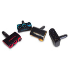 12V-24V Car Power Adjustable Color Adapter 3 Way Splitter Cigarette Socket Lighter Charger with Power Plug Outlet