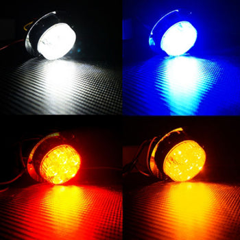 24V Switchback Wing LED Side Marker Light Colorful - KoreaAutoAccessory