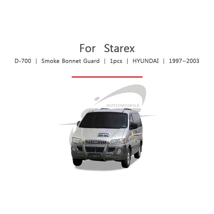 1pc Hyundai Fit Starex Bonnet Guard Molding Trim - KoreaAutoAccessory