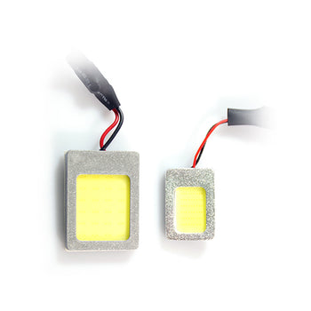 12V Highpower COB LED Car Panel Roof Ceiling Light Interior Bulb with T10 Festoon Adapter - KoreaAutoAccessory