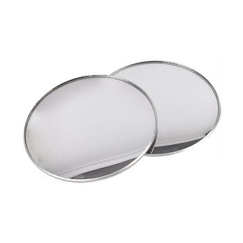 Car Wide Angle Rear Side View Blind Spot Square Mirror 4inches