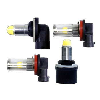 12V-24V High Vision LED Fog Light Bulbs H8 H11 880 881 6000K - KoreaAutoAccessory