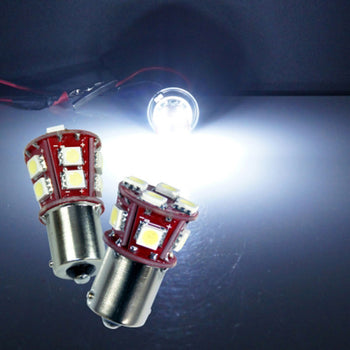 12V-24V Mprobeam 5050 LED Signal Lamp Bulb Ba15S Ba15D Colorful - KoreaAutoAccessory