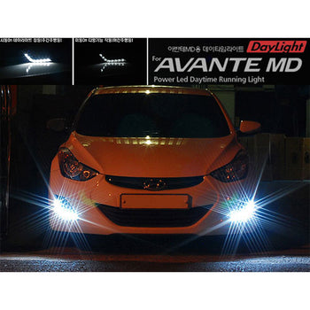 High Quality Car Light DRL Fog Driving Daylight White Lamp For Hyundai Elantra MD
