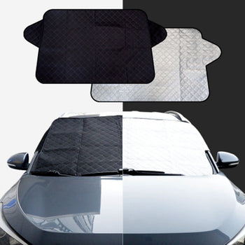 Car Front Rear Window Sunshade Cover Visor Shield Screen Foldable