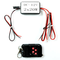 12V 20W LED Remote Control Switch Wireless Transmitter Receiver Module On/Off Strobe Flash Pulse - KoreaAutoAccessory