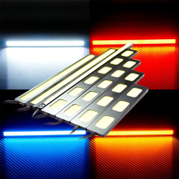 12V-24V LED Light Bar Surface Source Slim Adhesive - KoreaAutoAccessory