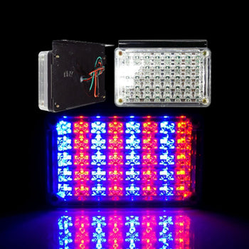 24V Switchback LED Square Taillight With Braket - KoreaAutoAccessory