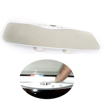 LED Super Wide Curve Mirror Car Auto Rear View Room Mirror Rearview