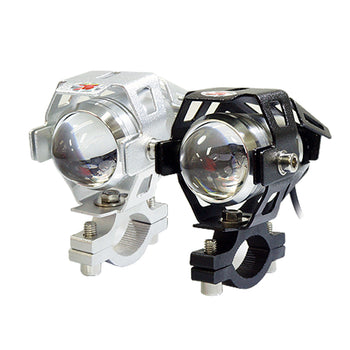 12V-24V Bike Transformers U5 LED Work Light Set Super Bright Bicycle Front Headlight Waterproof - KoreaAutoAccessory