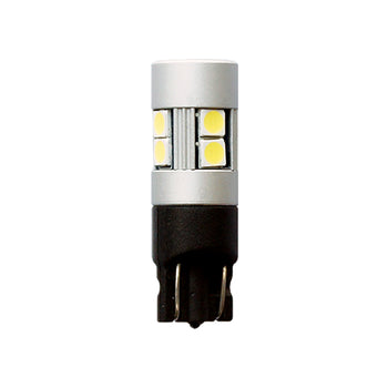 12V-24V Miniature Bulbs T10 Wedge 3030 LED 10 SMD - KoreaAutoAccessory