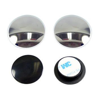50pcs Car Auto Round Blind Spot Mirror Adjustable Convex Wide Angle Side Rear View Mirror