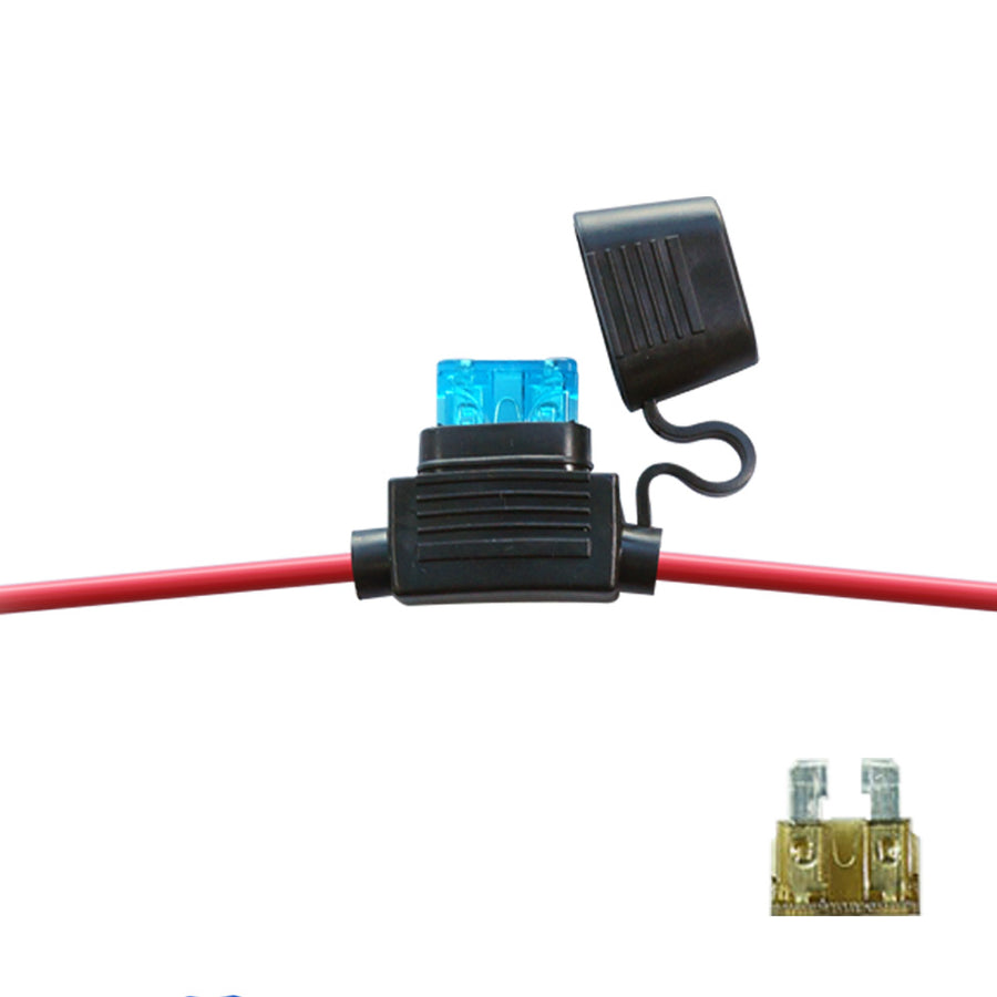 24v 5a Fuse Free Vehicle Wiring Diagrams Addacircuit Piggy Back Mini Blade Holder Blue 20amp 12v In Line Car Waterproof 30a Atc Ato M Rh Koreaautoaccessory Com 125v Fan 05a 250v