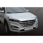 1pc Hyundai Fit All New Tucson Chrome Bonnet Guard Molding Trim - KoreaAutoAccessory