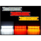 12V-24V 14LED Side Marker Light White Red Yellow - KoreaAutoAccessory