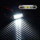 12V Car Light Bulbs Festoon Base 5050 LED 39mm 1.54in 2 SMD Interior Trunk Luggage - KoreaAutoAccessory