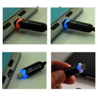 1M LED Light-up Micro USB Cable - KoreaAutoAccessory