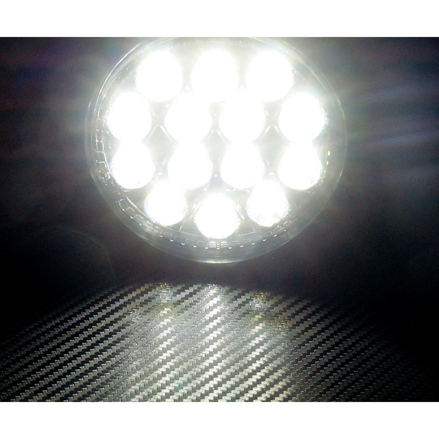 12V/24V 30 Degree 3W 6LED Work Light IP67 with Braket - KoreaAutoAccessory