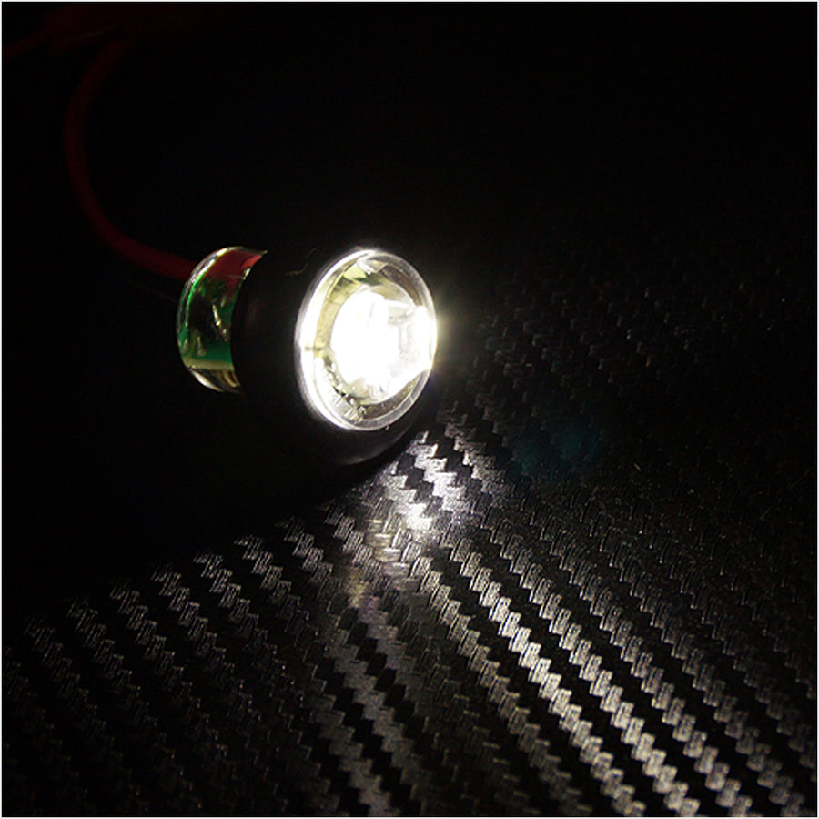 24V LED Side Marker Light Mount 1 SMD Turn Signal Reverse Exterior - KoreaAutoAccessory
