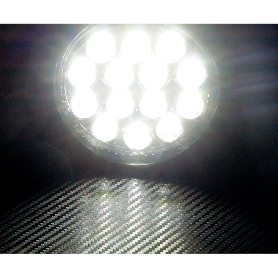12V/24V 3W 16LED 30Degree Work Light IP67 woth Braket - KoreaAutoAccessory