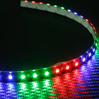 12V 60CM LED Flexible Flow Type Flowing Strip Light Black Tube - KoreaAutoAccessory