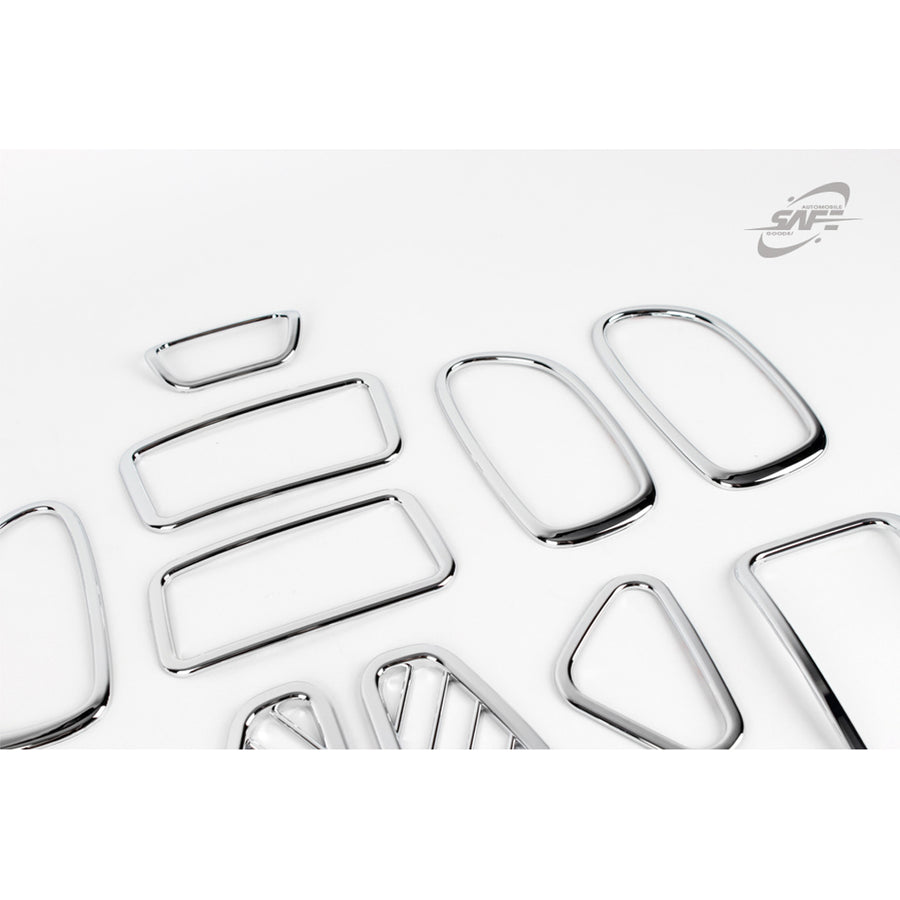 14pcs Hyundai Fit Elantra HD Chrome Interior Molding - KoreaAutoAccessory