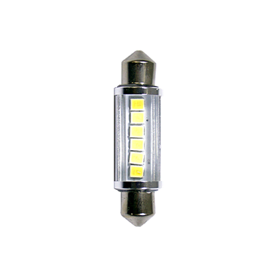 12V-24V Car Light Bulbs Festoon Base LED 28mm 31mm 36mm 39mm 41mm Interior Reading Trunk Luggage - KoreaAutoAccessory
