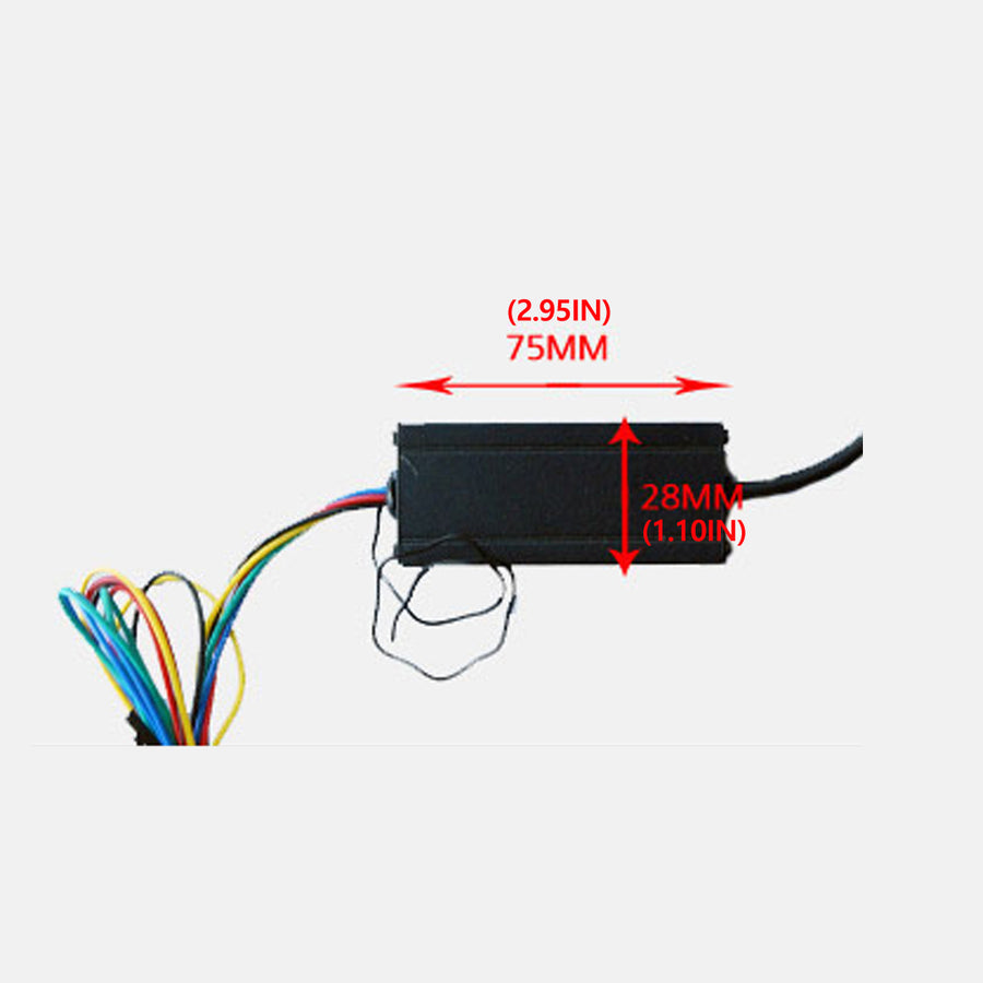 12V-24V 44in LED Light Bar Flexible Switchback RGB Waterproof Wireless Remote Control - KoreaAutoAccessory