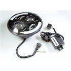 12V 80W 7in LED Day Light Headlight Turn Signal H4 IP67 - KoreaAutoAccessory