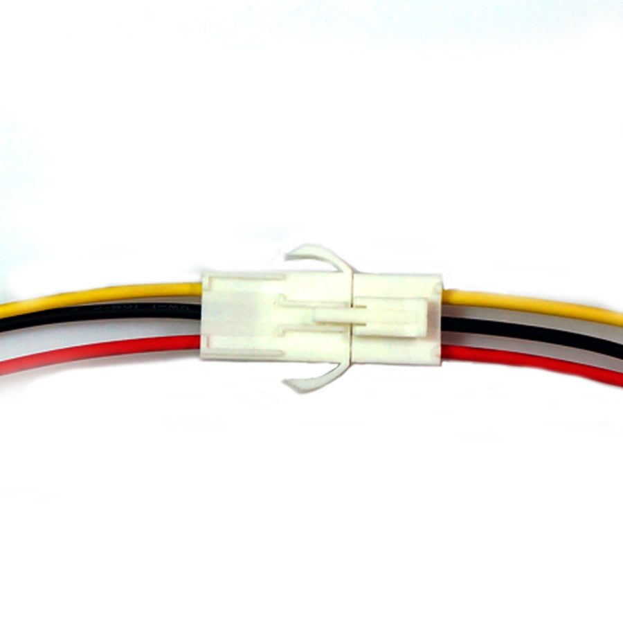 2 Pin 3 Pin Electrical Wire Connector Plug Socket Cable